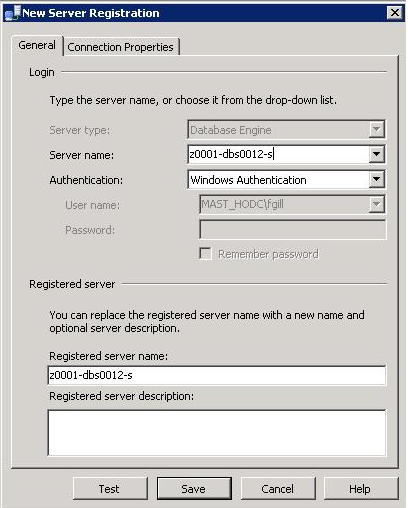 Create the Central Management Server